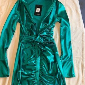 Fashion nova Green Party dress